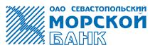 Логотип Севастопольского Морского банка